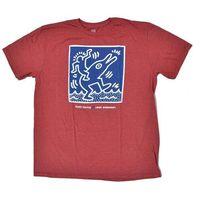 koszulka ALIEN WORKSHOP - Haring Dolphin Red Hthr (CERVENA) rozmiar: S