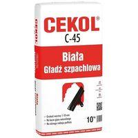 Cekol C-45 Biała gładź szpachlowa 10 kg (5906474450103)
