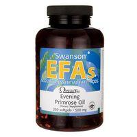 Kapsułki Swanson Evening Primrose Oil (Olej z nasion wiesiołka) 500mg 250 kaps.