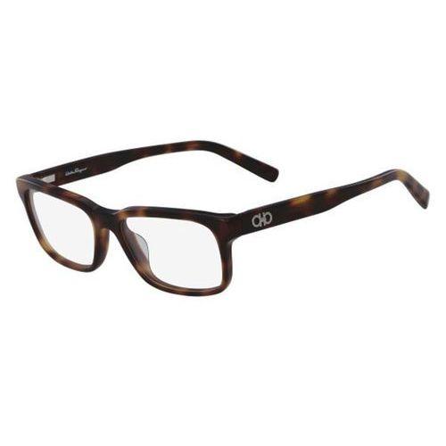 Salvatore ferragamo Okulary korekcyjne sf 2781 214