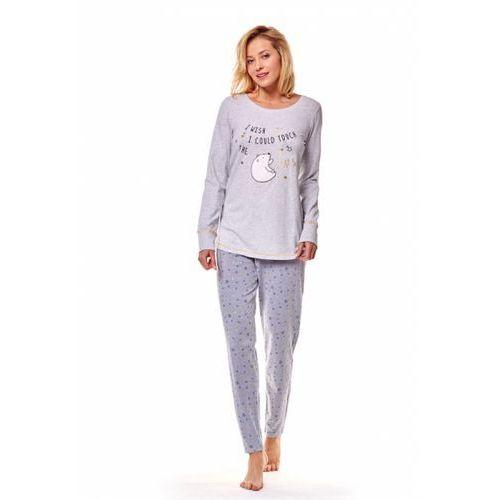 98760d3940eb55 Henderson Tayla 36810-59X Granatowa piżama damska, kolor niebieski ...