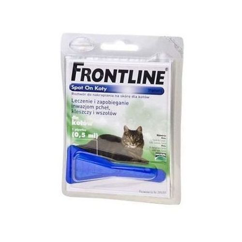Frontline Spot-On Kot 1 pipeta (5909997019550)