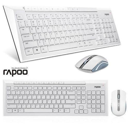 Zestaw bezprzewodowy 5g 8200p biały marki Rapoo