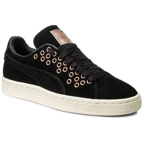Sneakersy - suede xl lace vr wn's 364107 01 puma black/puma black, Puma, 36-41