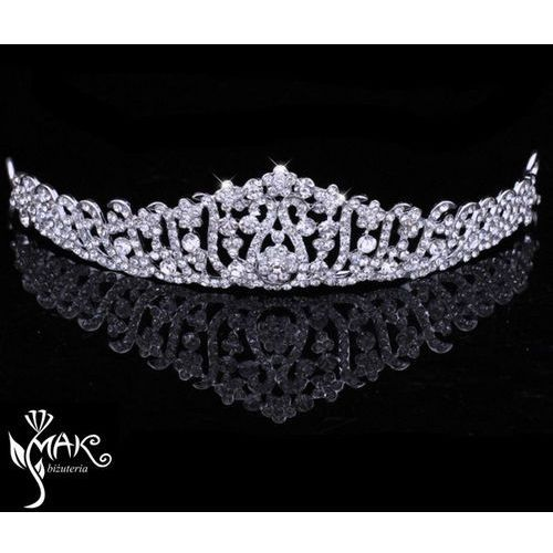 Mak-biżuteria T656/16 opaska ślubna, tiara, diadem