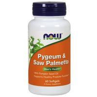 Now Foods Pygeum & Saw Palmetto 60 kaps.