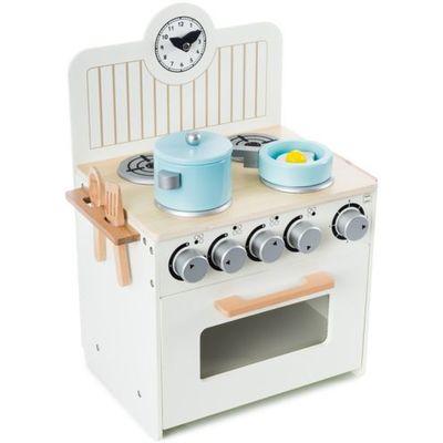 Kuchnie Zabawki Ecotoys Kuchnia Drewniana Z Wyposazeniem Dla