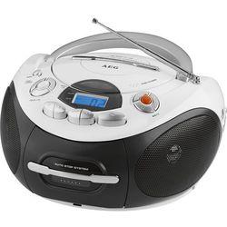 Przenośne radiomagnetofony CD  AEG