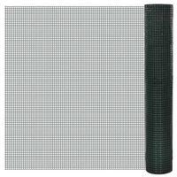 siatka ogrodzeniowa ocynkowana z tworzywa pcv 1m x 10m oczko 25x25mm marki Vidaxl