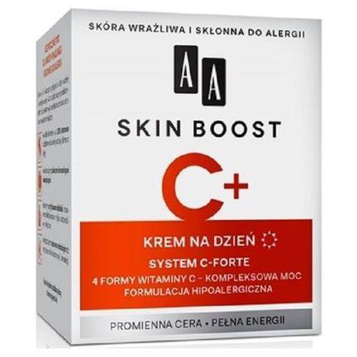 Skin boost c+, 50 ml. krem na dzień - aa od 24,99zł darmowa dostawa kiosk ruchu Aa
