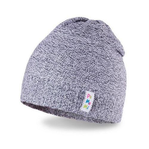 Pamami Wiosenna czapka dziewczęca - ciemnoszary - ciemnoszary