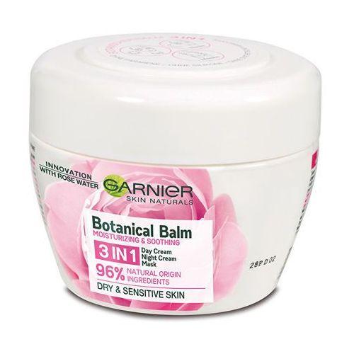Krem do pleť z różową wodą 3w1 skin natura l s 1s (botanical balm) 150ml Garnier