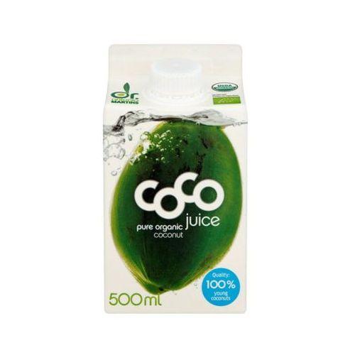 Dr martins 500ml woda kokosowa naturalna bio Dr. antonio martins