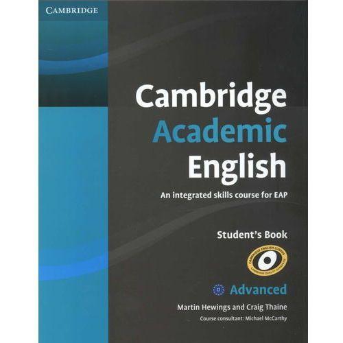 Cambridge Academic English C1 Advanced Student's Book (podręcznik) (2012)