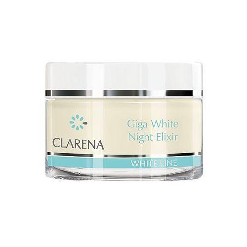 Giga white night elixir eliksir wybielający na noc 50 ml Clarena
