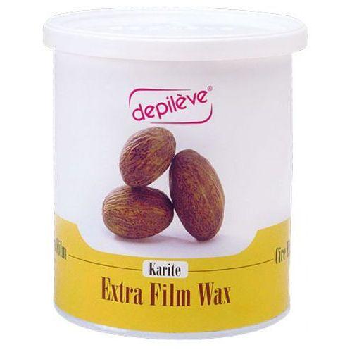 Depileve KARITE EXTRA FILM WAX Wosk do depilacji bezpaskowej z masłem Karite (800 g.) - Super oferta