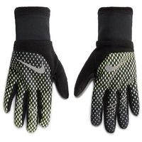 Rękawiczki Męskie NIKE - NRGG4719 719 Czarny Zielony