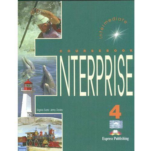 Enterprise 4 Intermediate Coursebook, oprawa kartonowa