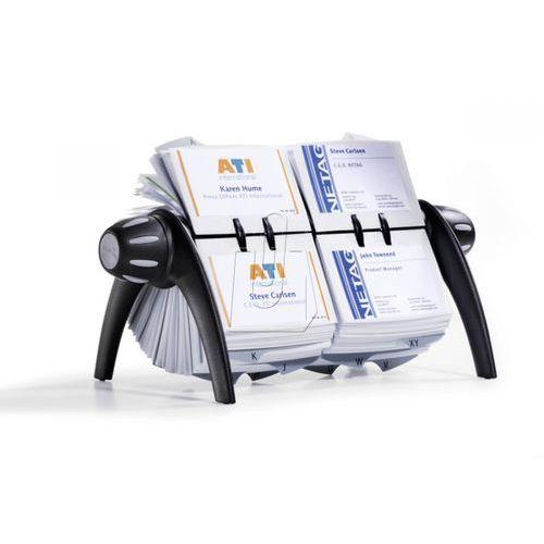 Wizytownik obrotowy visifix flip duo vegas 600 czarny 2443-01 marki Durable