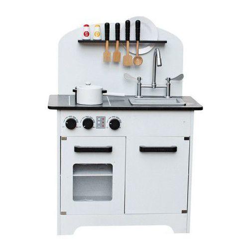 Drewniana Kuchnia Dla Dzieci Deluxe Biała Z Wyposażeniem 67f2 298ad Wooden Toys