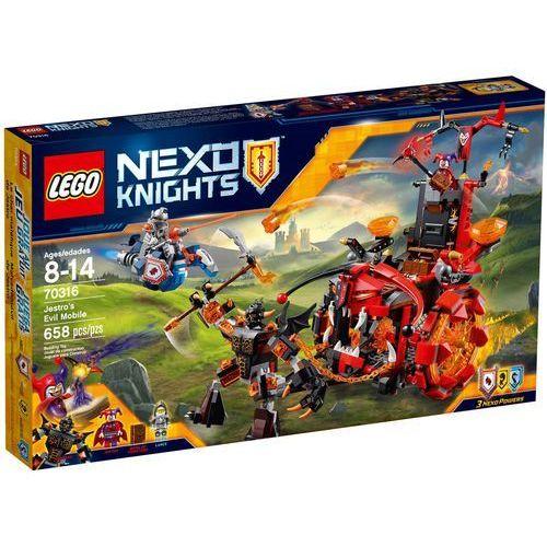 70316 POJAZD ZŁA JASTRO Jestro's Evil Mobile KLOCKI LEGO NEXO KNIGHTS