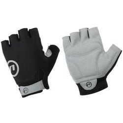 610-80-90_acc-l rękawiczki rowerowe blacky czarno-szare l marki Accent