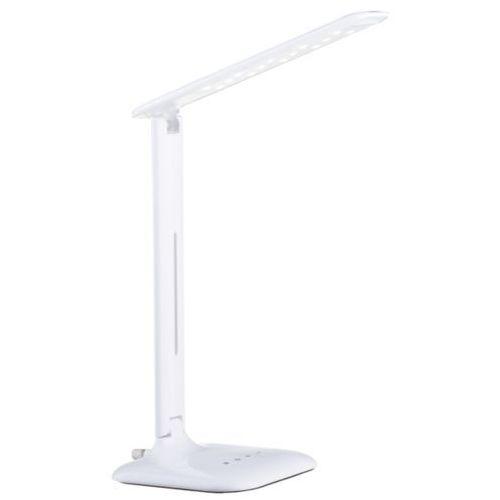 Lampa biurkowa caupo led biała, 93965 marki Eglo