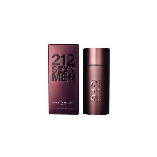 Carolina herrera 212 sexy men, woda toaletowa, tester, 100ml (m) (8411061906934)