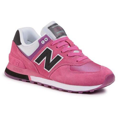 Sneakersy NEW BALANCE - WL574SAV Różowy