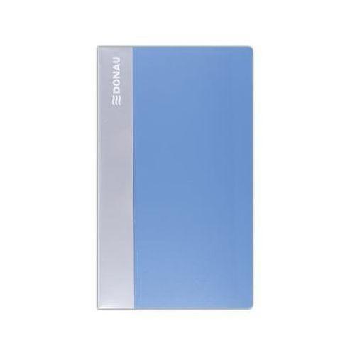 Wizytownik DONAU, PP, na 480 wizytówek, jasnoniebieski (5901498024323)