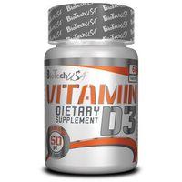 Bio Tech USA Vitamin D3 - 60 kaps. (5999076205349)
