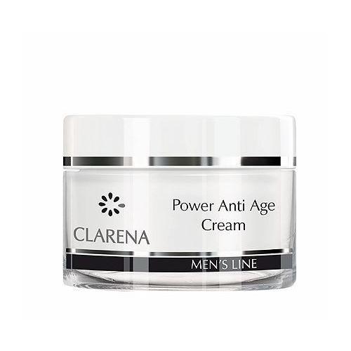 Clarena power anti age cream krem przeciwzmarszczkowy dla mężczyzn 50 ml (5904730324687) - fotografia Clarena power anti age cream krem przeciwzmarszczkowy dla mężczyzn 50 ml (5904730324687)