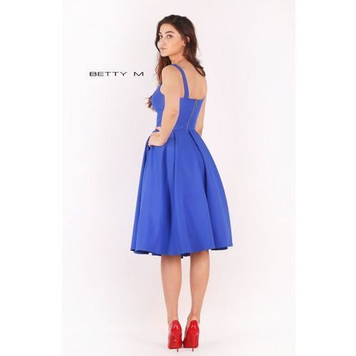 Klasyczna sukienka do kolan z kieszonkami, 38-46