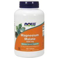 NOW FOODS Magnesium Malate 1000mg - 180 tabletek