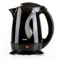 domo czajnik elektryczny 2200 w, 1,7 l, czarny, do9019wk marki Domo