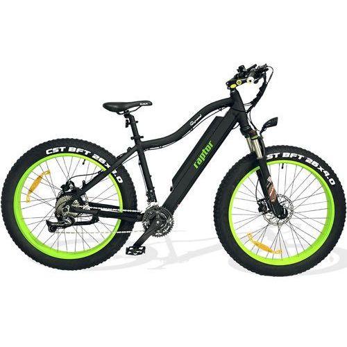 Rower elektryczny SKYMASTER Raptor Czarno-zielony