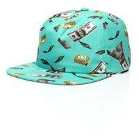 czapka z daszkiem DGK - Festive Strapback Cap Turquoise (TURQUOISE) rozmiar: OS