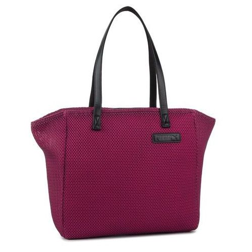 576a3b0b9ed04 Puma Torebka PUMA - Prime Time Large Shopper 076014 01 Fuchsia Purple/Puma  Black, kolor