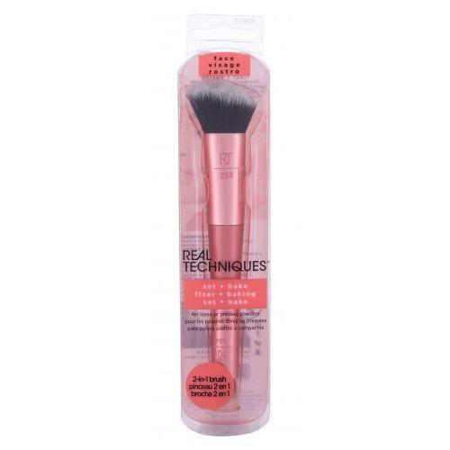 Real techniques brushes set + bake pędzel do makijażu 1 szt dla kobiet - Znakomita promocja