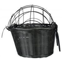 Trixie szary koszyk rowerowy z kratką 44x34x35 cm dostawa gratis od 99 zł + super okazje