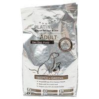 PLATINUM IBERICO+GREENS 15kg ( 3x5kg ) PÓŁWILGOTNA Adult świnia iberyjska karma dla psów (4260208740191)