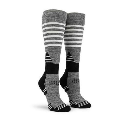 Skarpetki - tundra tech sock charcoal heather (chh) rozmiar: m/l marki Volcom