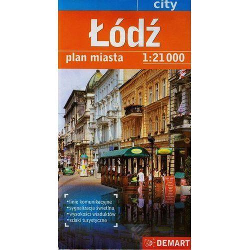 Łódź. Plan miasta. 1:21 000 Demart, Demart