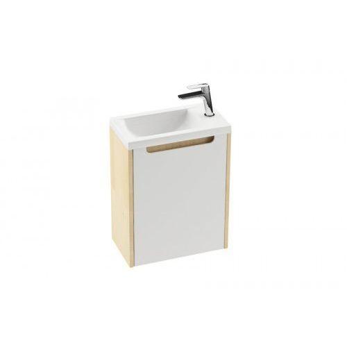 drzwiczki szafki sd classic 400 lewe, biały połysk x000000420 marki Ravak