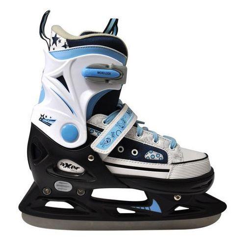 Łyżwy hokejowe regulowane AXER SPORT A0346 Mell (rozmiar 29-32) + + Zamów z DOSTAWĄ JUTRO