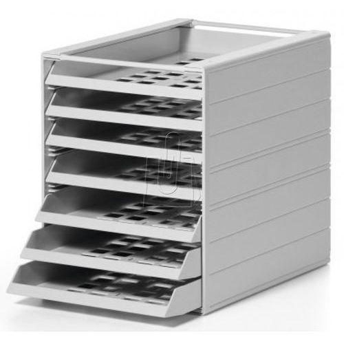 Durable Pojemnik z 7 szufladami idealbox basic szary 1712002050 (7318082002052)