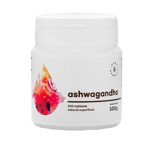 Tabletki Ashwagandha 400mg 200 tabl