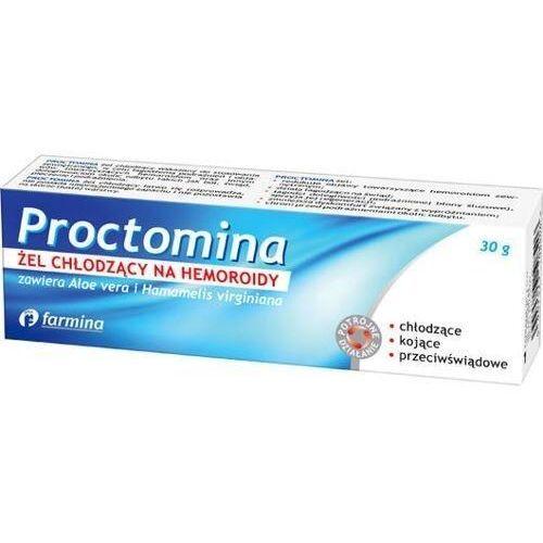 Farmina Proctomina żel chłodzący na hemoroidy 30g - Rewelacyjna oferta