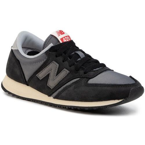 Sneakersy - u420kbg czarny szary, New balance, 36-44