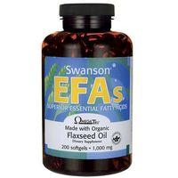 Kapsułki Swanson Flaxseed Oil Omega 3-6-9 1000mg 200 kaps.